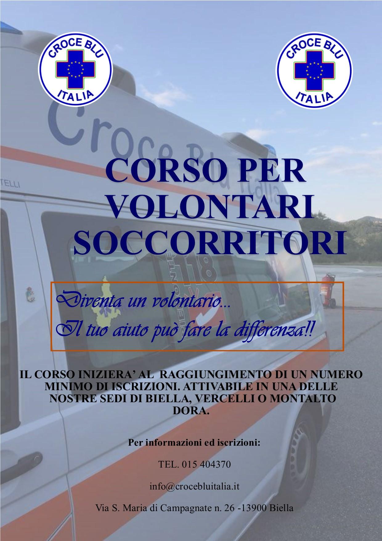 immagine notiziaAvvio nuovo corso di formazione per volontari-soccorritori 118