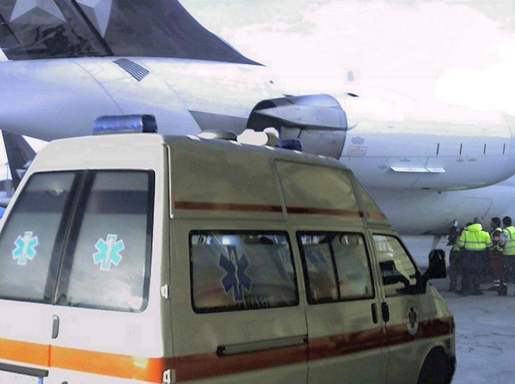 Aeroporto di Ginevra, volo sanitario - 27.03.07