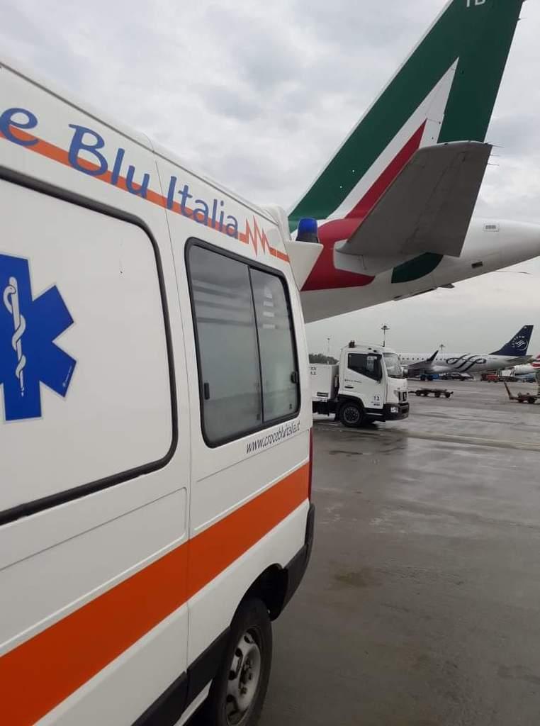 Servizio presso l'Aeroporto di Linate - 16.05.18