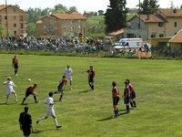 Partita di calcio, Pollone (BI) - aprile 2007