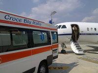 Aeroporto di Torino Caselle, volo sanitario - 04.09.10