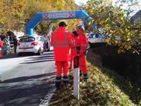 Giro d'Italia Automobilistico, start PS 1 - Bielmonte (BI), 26.11.11