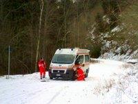 Assistenza test auto da rally - Piode (VC), 29.12.11
