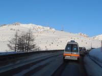 Al ritorno dall'Icecup di Livigno (SO) - Passo del Foscagno mt 2291, 05/02/12