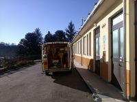 Dopo aver scaricato un paziente, Villa del Bosco - 12.03.13