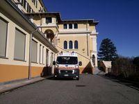 Dopo aver scaricato un paziente, Villa del Bosco 12.03.13