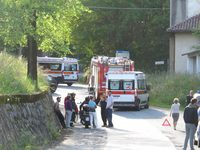 Incidente a Mongrando S. Lorenzo, 08.05.14