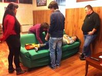 Corso sulla movimentazione manuale dei pazienti - Biella, 30.10.14