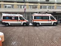 Ambulanze 147, 156 - Ospedale S. Andrea, Vercelli