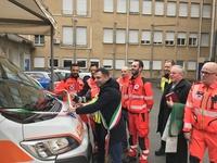 Inaugurazione nuova ambulanza di Gattinara - 07.03.19