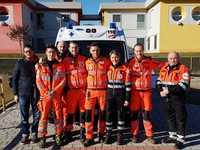 Personale della sede di Vercelli - Inaugurazione nuova ambulanza 04.02.19