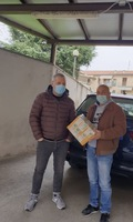 Donazione mascherine Santhià